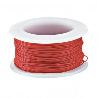 Wrapping Wire, Gauge 30, Red