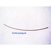 Gold wire 0.5 mm diameter, 10 cm length, 99.95%