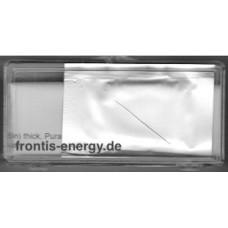 Iron Foil, 25x25x2 mm Puratronic, 99.995%