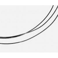 Platinum wire, diameter 0.25 mm, length 25 cm, 99.9%