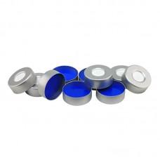 Crimp Caps, Aluminum, 20 mm, Septa included